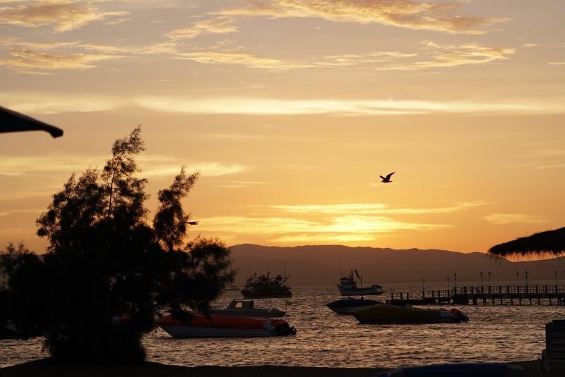 paracas sunset