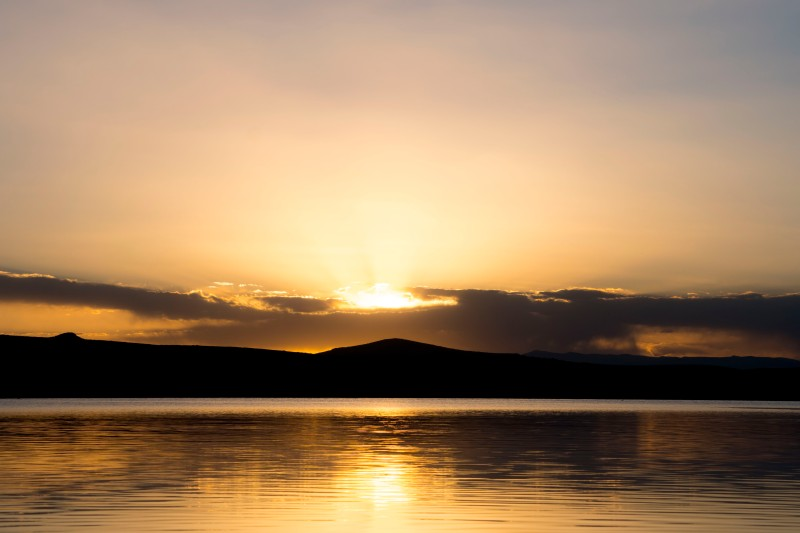Sunset Titicaca
