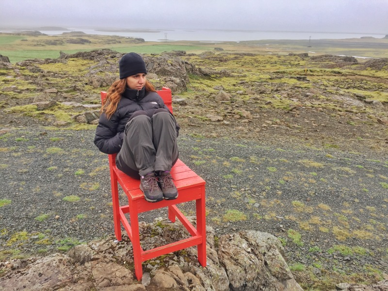 red chair iceland