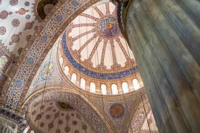 Techos de la Mezquita Azul